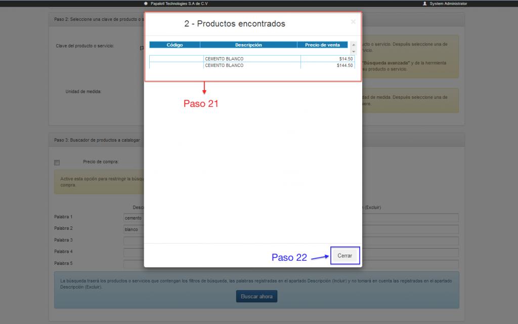 revisión productos a clasificar en clasificación masiva de claves de productos y servicios SAT