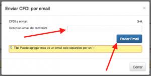 Koatl Facturas Envia tu CFDI V.3.3. por correo electrónico