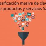 Clasificación masiva de claves de productos y servicios SAT