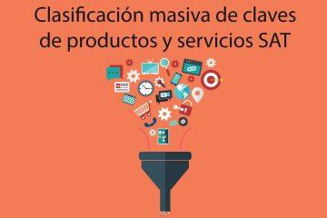Claves de productos y servicios SAT