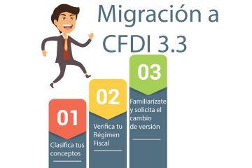 Pasos migración a CFDI 3.3