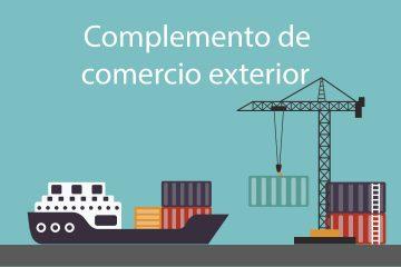 complemento de comercio exterior
