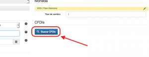 Buscar CFDIs en el complemento de pago SAT