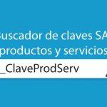 Buscador de claves SAT de productos y servicios