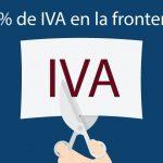 IVA en la frontera de México